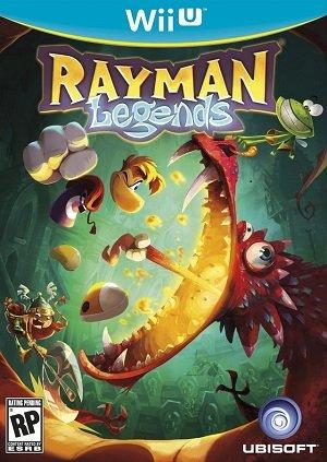 Wii U Rayman Legends