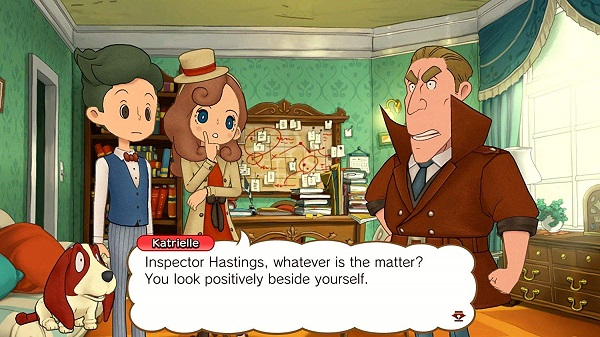 Layton's Mystery Journey Katrielle and the Millionaires' Conspiracy для Nintendo Switch