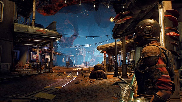 The Outer Worlds PS4 открытый мир