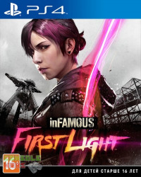 inFAMOUS First light Первый свет (PS4)