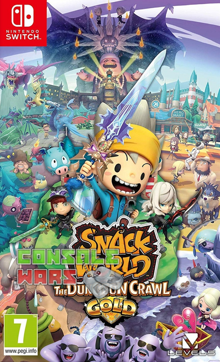 Snack World The Dungeon Crawl Gold (Nintendo Switch)