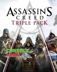 Assassins Creed Triple Pack: Black Flag, Unity, Syndicate (Xbox One Key)