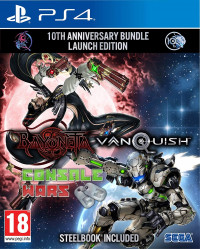 Bayonetta and Vanquish 10th Anniversary Bundle Steelbook (PS4)