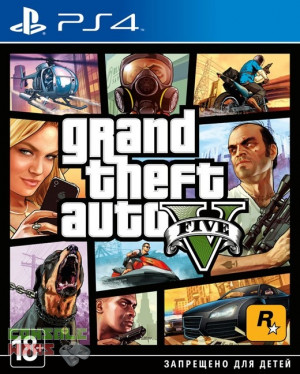 GTA 5 Grand Theft Auto 5 (PS4)