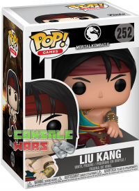 POP! Vinyl Games Mortal Kombat: Liu Kang