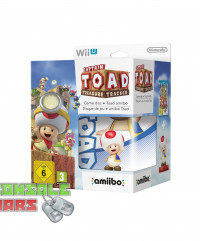 Captain Toad Treasure Tracker + Toad Figure amiibo