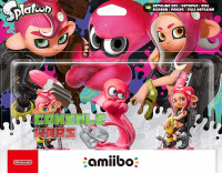 Amiibo Octoling Triple Pack (Boy + Octopus + Girl)