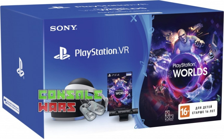 SONY PlayStation VR (Camera+VR Worlds)