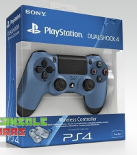 Dualshock 4 V1 Gray Blue