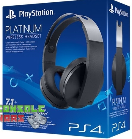 Platinum Wireless Stereo Headset PS4
