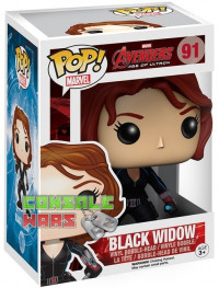 POP! Bobble Marvel: Avengers AOU Black Widow