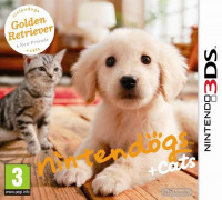 Nintendogs + Cats: Golden Retriever & New Friends (3DS)