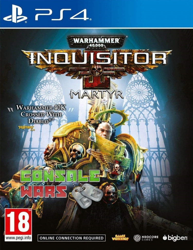 Warhammer 40000 Inquisitor Martyr (PS4)