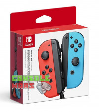 Nintendo Switch Joy-Con Controller Pair Neon Red/Neon Blue