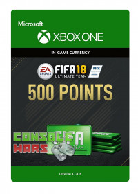 FIFA 18 Ultimate Team 500 Points Xbox One ключ