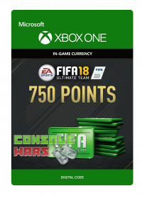 FIFA 18 Ultimate Team 750 Points Xbox One ключ
