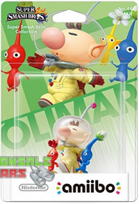 amiibo Smash Pikmin and Olimar