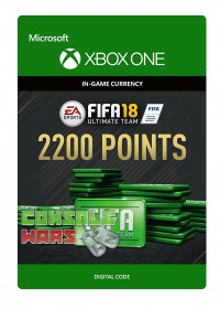FIFA 18 Ultimate Team 2200 Points Xbox One ключ
