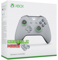 Xbox One Grey/Green Controller