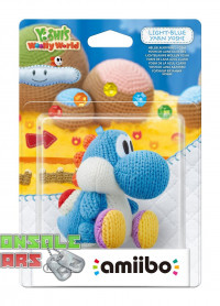 amiibo Light Blue Yarn Yoshi