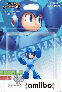 amiibo Smash Mega Man