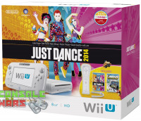Wii U 8GB Basic Just Dance NintendoLand Pack