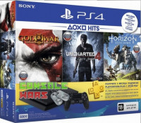 Sony PlayStation 4 500 GB + 3 игры