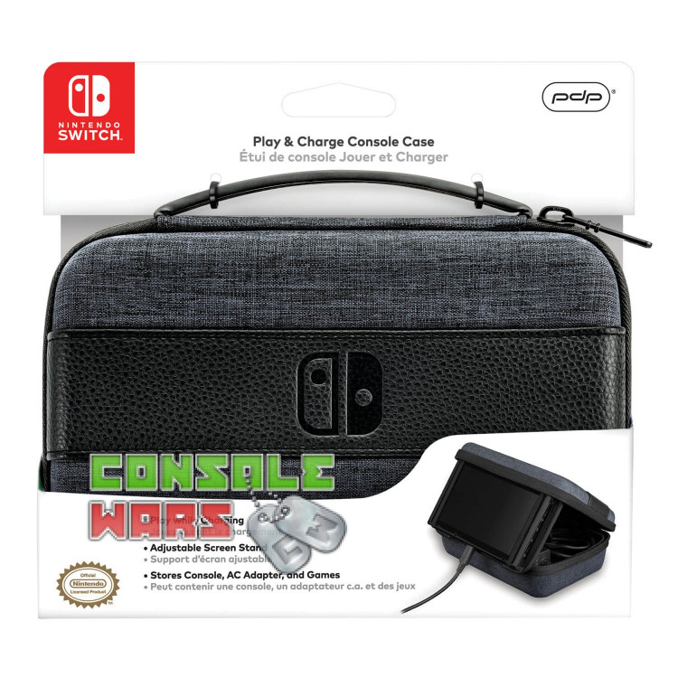 PDP Nintendo Switch Play and Charge Travel Case