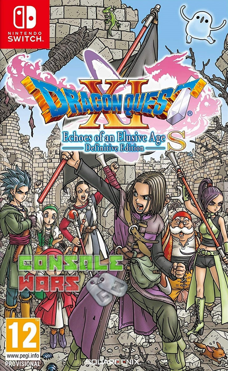 Dragon Quest 11 S Echoes of an Elusive Age (Nintendo Switch)