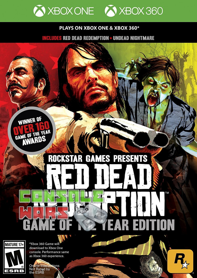 Red Dead Redemption: Game of the Year Edition (Xbox 360 / Xbox One)