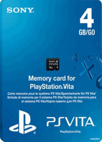 Sony PlayStation Vita Memory Card 4 ГБ