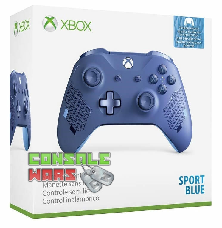 Xbox One Controller (Sport Bue)