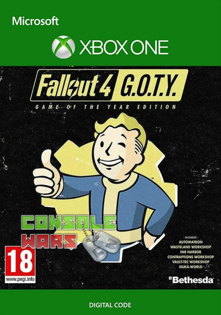 Fallout 4 Game of the Year Edition (Xbox One Key)