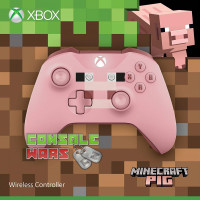 Xbox One Controller (Minecraft Pig)