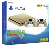 Sony PlayStation 4 Slim Gold (500 GB) + Dualshock 4 Gold