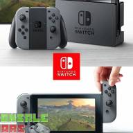 Nintendo Switch (Grey) - Nintendo Switch консоль