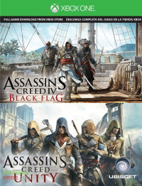 Assassins Creed Unity/Assassins Creed IV Black Flag (Xbox One)
