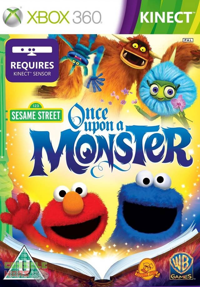 Sesame Street Once Upon a Monster (Xbox 360)