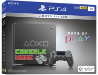 PS4 Slim (1TB) Black Days of Play Special Edition