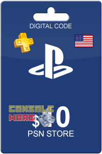 PlayStation Network (PSN) 10 $ USA (Цифровой код)