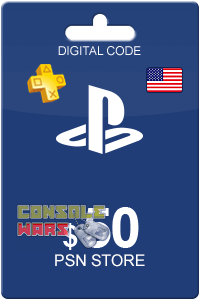 PlayStation Network (PSN) 50 $ USA (Цифровой код)