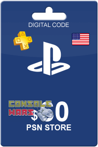 PlayStation Network (PSN) 60 $ USA (Цифровой код)