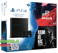 Sony PS4 1TB DriveClub + The Last of Us