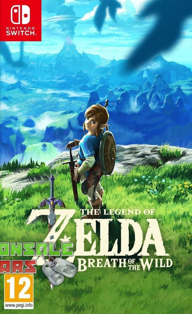 The Legend of Zelda Breath of the Wild (Switch)