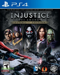 Injustice Gods Among Us - Ultimate Edition (PS4)
