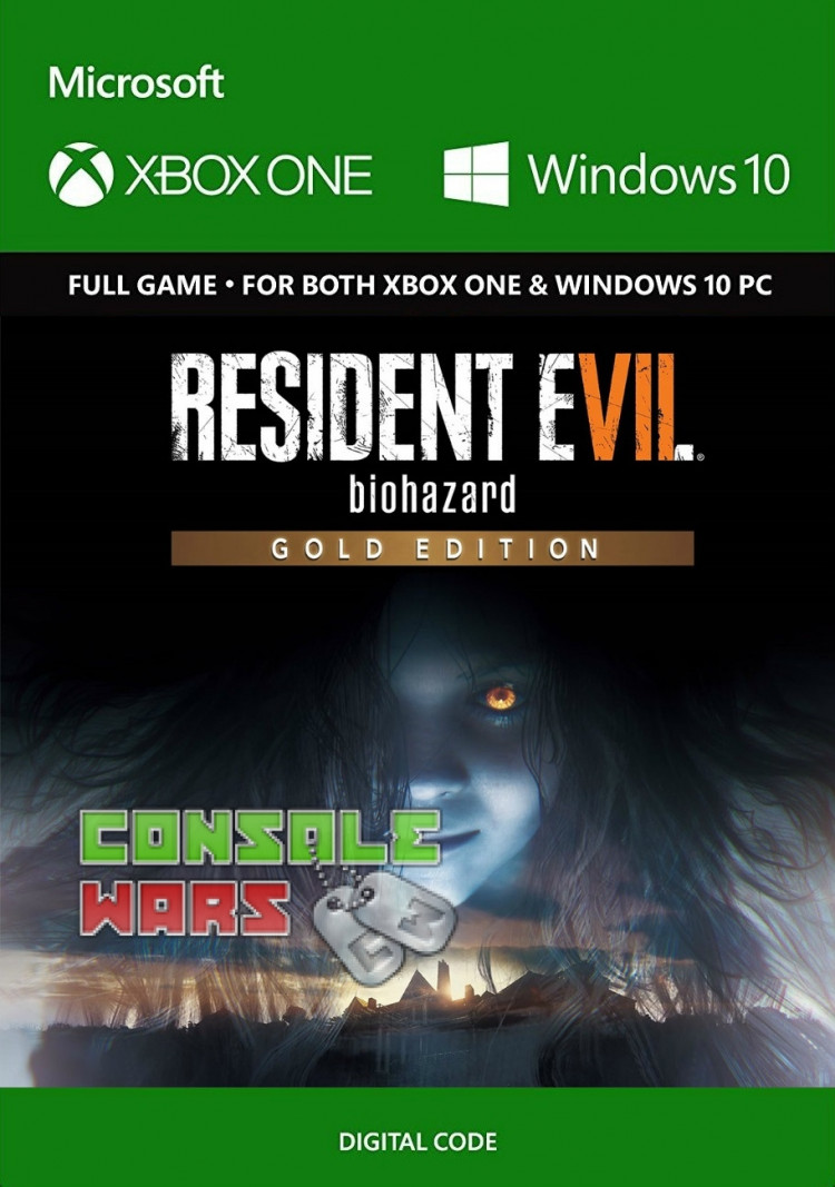 RESIDENT EVIL 7 Biohazard Gold Edition (Xbox One Key)