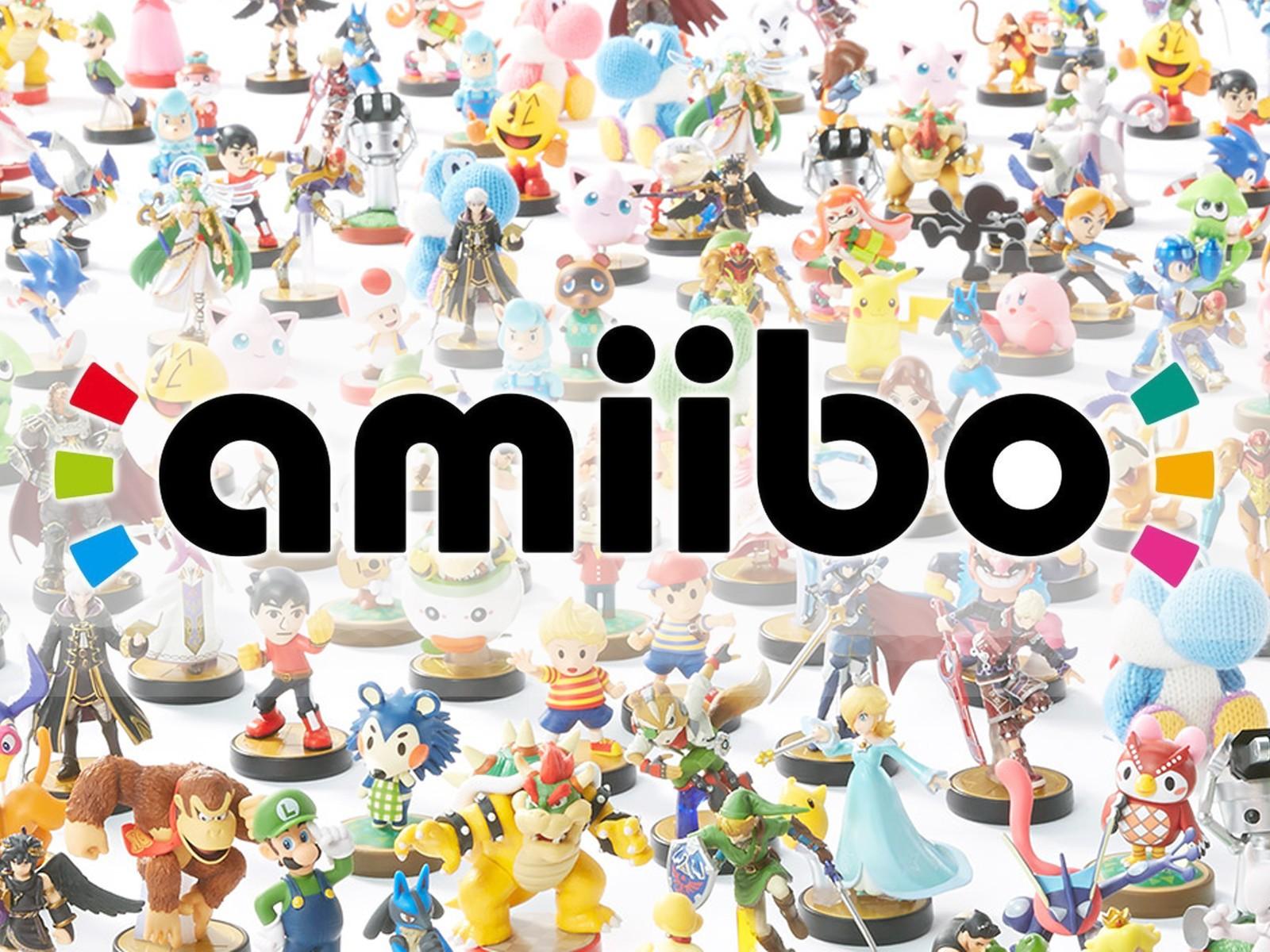 Фигурки Amiibo