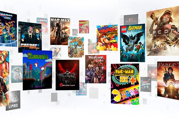 Игры Xbox One (ключи активации)